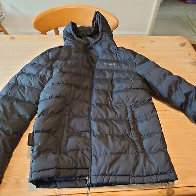 Mountain Warehouse Size XS Grey Padded Puffer Coat Hooded Water Resistant