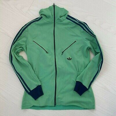 RARE ADIDAS VENTEX MADE IN WEST GERMANY VINTAGE SPORTSWEAR ZIPPER