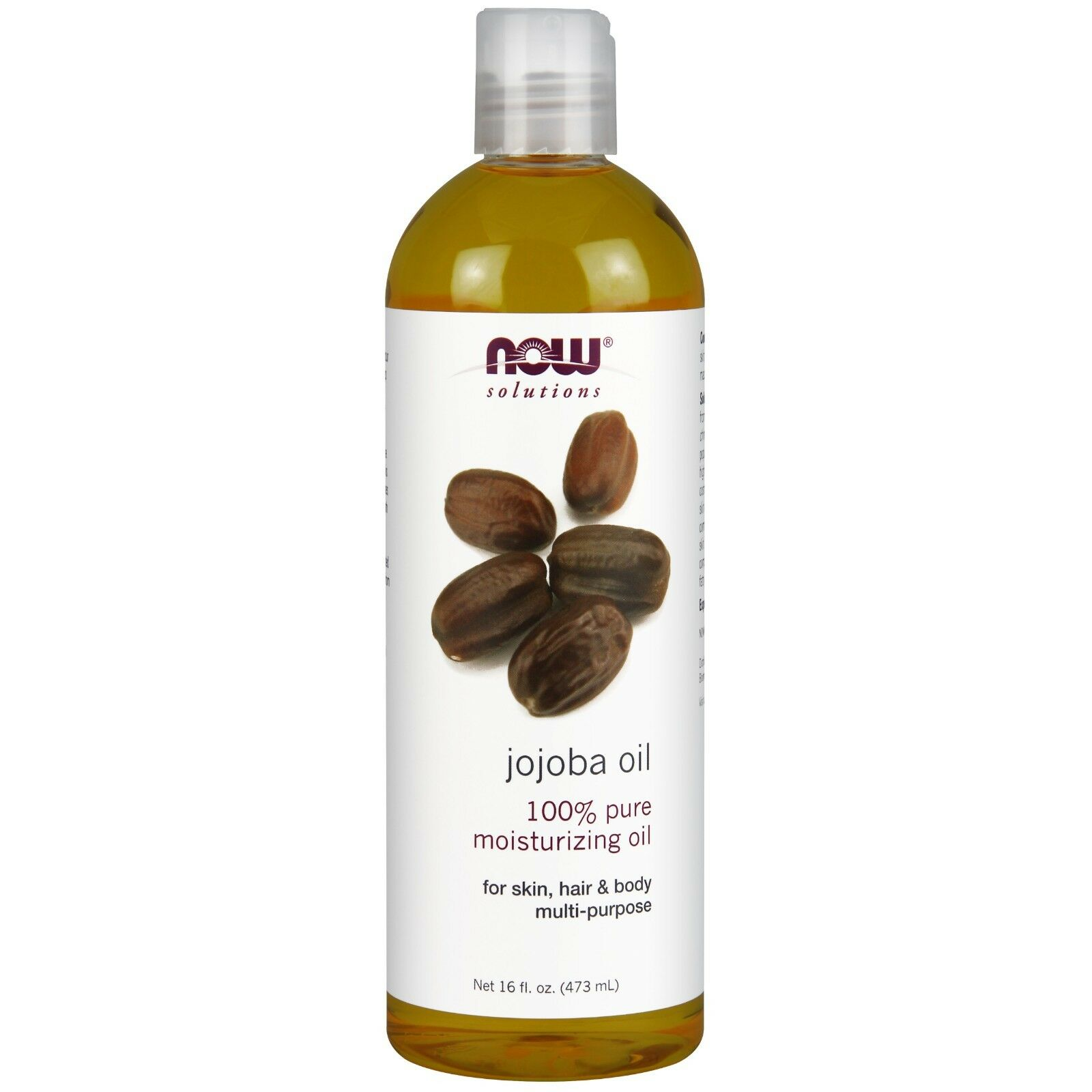 Now Foods Jojoba Oil Pure - 16 oz. 8 Pack