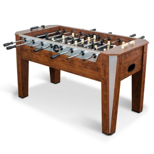 Classic Sport Liverpool Foosball Table, Brown, 60 in. Finished Oversized