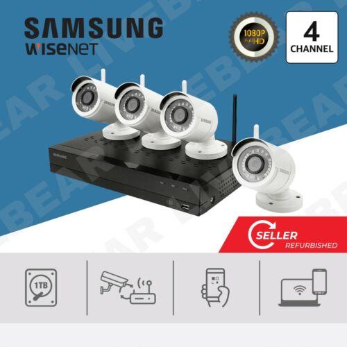 (Seller Refurbished) Samsung SNK-B73040BW 1TB Wireless 4CH Full HD System