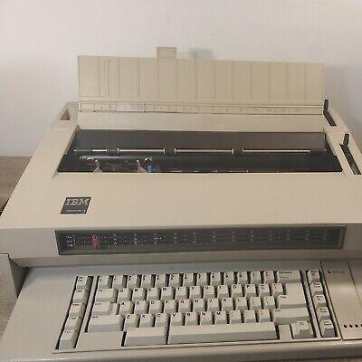 Ibm Type 674x Wheelwriter 3 Vintage Electric Typewriter - Tested Working