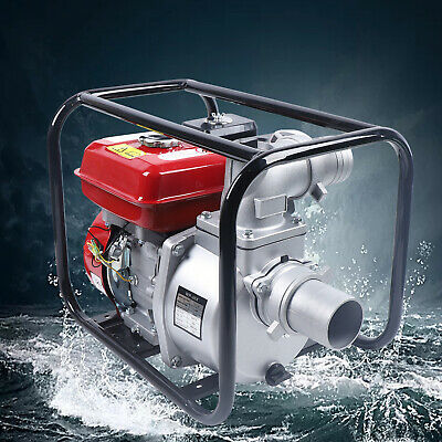 3 Agricultural Irrigation Water Pump 7.5hp Garden Farm Suction Red Water Pump