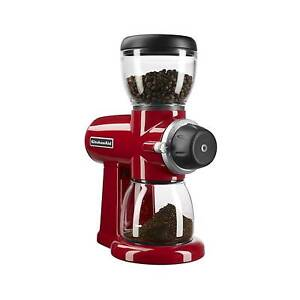 Kitchenaid Coffee Burr Grinder Empire Red Kcg0702er