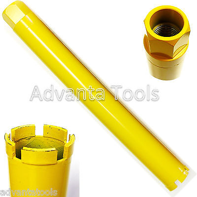 2-14 Wet Diamond Core Bit For Heavy Reinforced Concrete Soft To Hard Aggregate