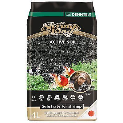 Dennerle SK Shrimp King Active Soil 4 Liters DE-SKS4 Substrate Freshwater