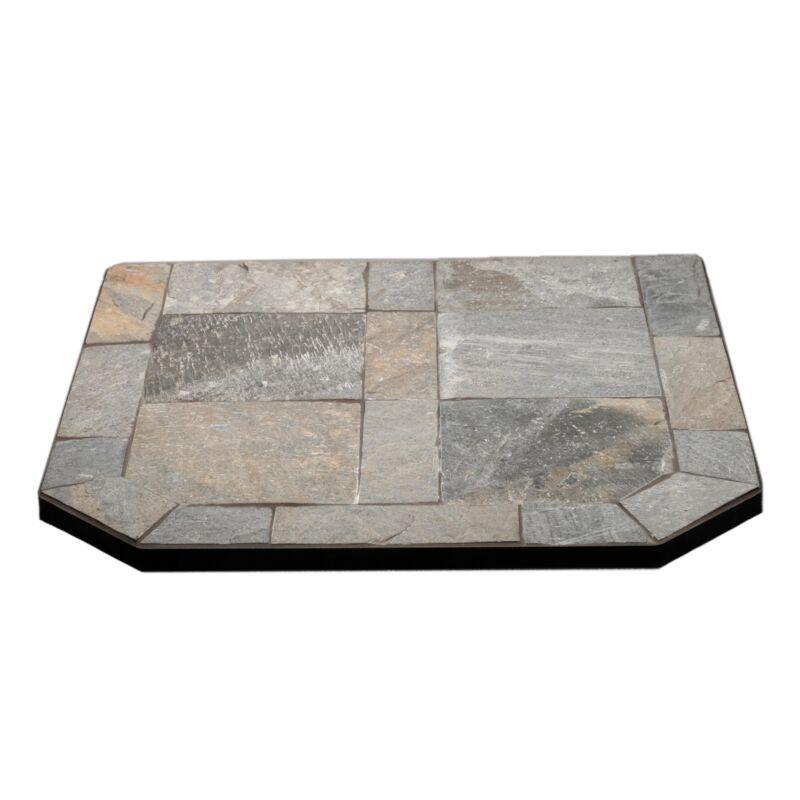 ComfortBilt Natural Silver Slate Flatwall Hearth Pad