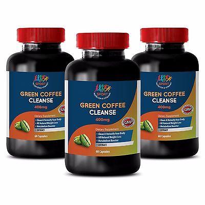 Weight Loss Pills For Men - Green Coffee Expiate 800mg - Green Coffee Detox 3B