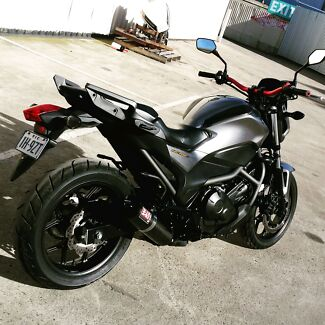 2014 Honda nc700s stealth commuter streetfighter  Sunshine Brimbank Area Preview