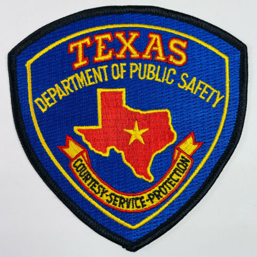 Texas Department Of Public Safety TX DPS Police Trooper Patch A4