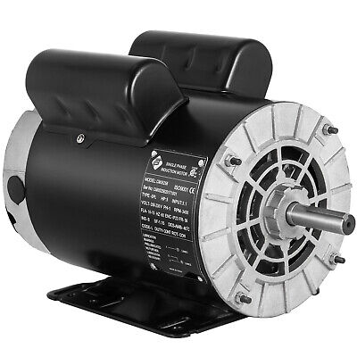 5 Hp Spl 3450 Rpm Air Compressor 60 Hz Electric Motor 208-230 Volts Usa