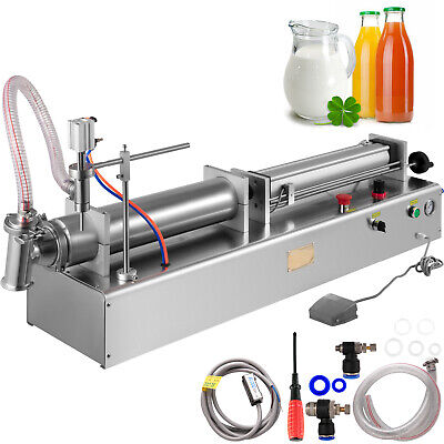 Vevor Pneumatic Filling Machine Liquid Filler Machine 500-3000ml Liquid Filling