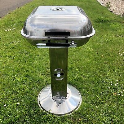 Modern Stainless Steel Barbecue Charcoal Bbq Pedestal