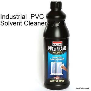 Industrial Solvent PVC Cleaner plastic garden PVCu Glazing window door glass