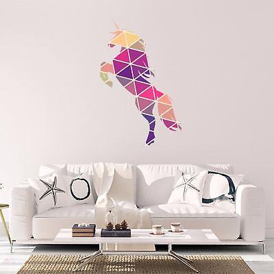 Unicorn Vinyl Sticker Geometric Animal Print Wall Vinyl Print Decal Art Design Animal Print Sticker
