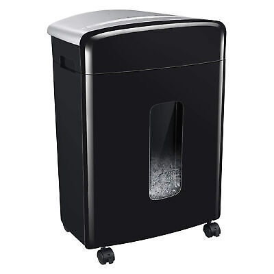 Bonsaii C222-b 16 Sheet High Security Micro Cut Credit Card And Paper Shredder