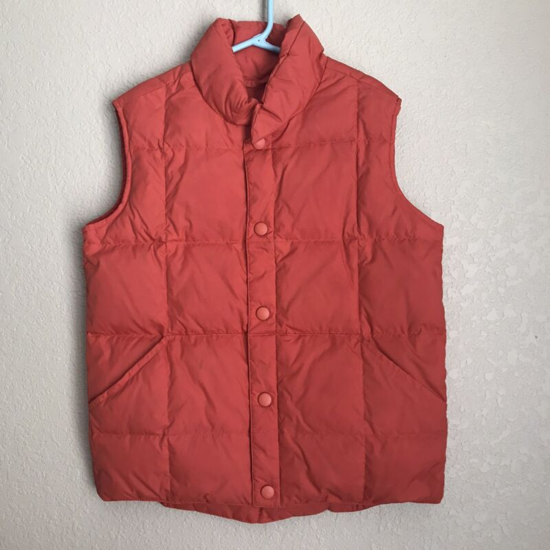 Lands' End Goosedown Vest, Boys Size Large 6x-7
