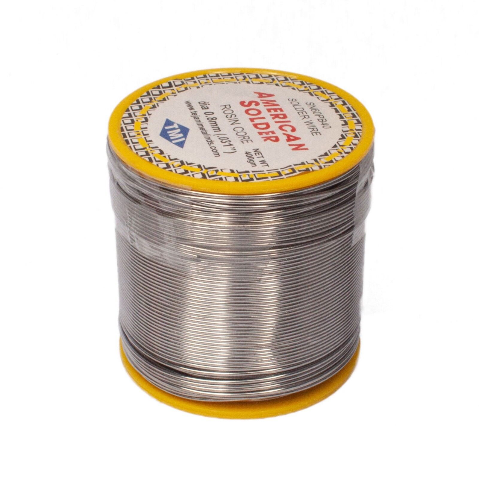 New 400G 0.8mm 60/40 Tin lead Solder rosin flux Wire Roll Soldering New