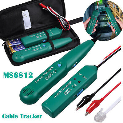 Network Rj Line Finder Cable Tracker Tester Sender Wire Tracertool Bag Pouch