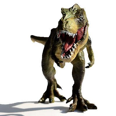 12  Tyrannosaurus Rex Solid Plastic Dinosaur Kids Toy Model Gift For Boy T Rex