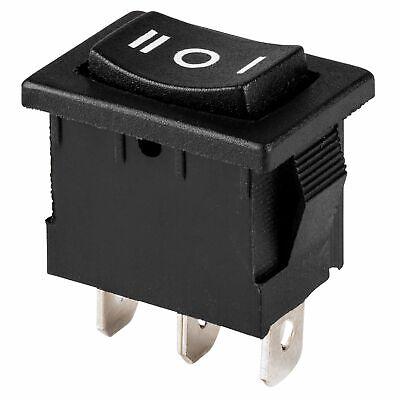 Parts Express Spdt Miniature Rocker Switch Center Off