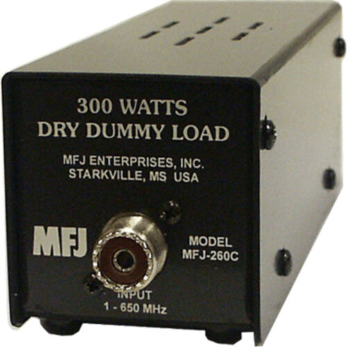 MFJ-260C - Dummy Load, Air Cooled, 300 Watts Intermittent Power Ham CB 2 Way