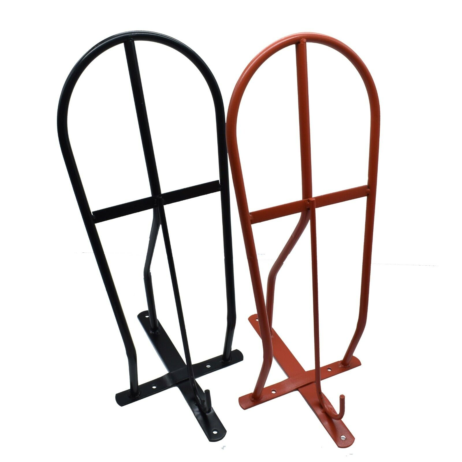 Black Perry Equestrian No.524 Wall Mounted Standard Saddle Rack