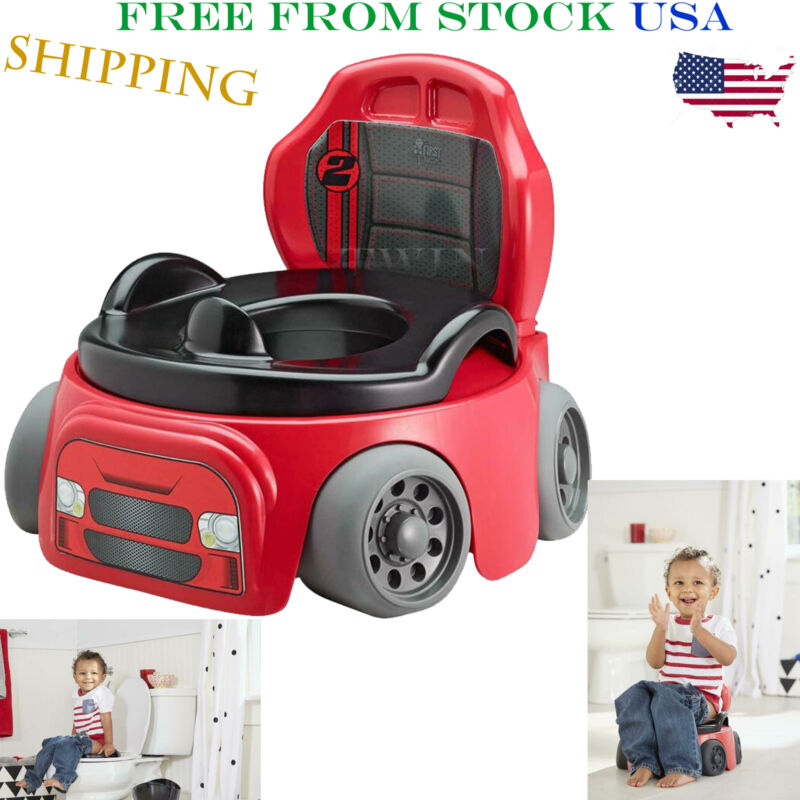 Potty Training Chair Kids Toddler Toilet Seat Car Racer Baby
