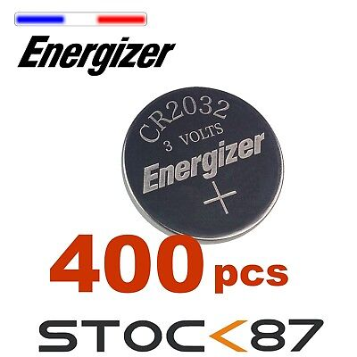 400 piles Energizer Pile Bouton CR2032  - Pack CR 2032 ()