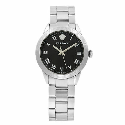 Versace V Sport Ornament Stainless Steel Quartz Ladies Watch P6Q99FD008S099