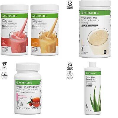Herbalife Formula 1 Proteina Te 1.8 Oz , Aloe ALL FLAVOR/FAST SHIPPING