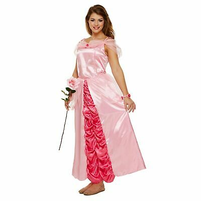 ADULT PINK SLEEPING PRINCESS DRESS UP OUTFIT ladies womens fancy dress costume](Adult Princess Dress Up)