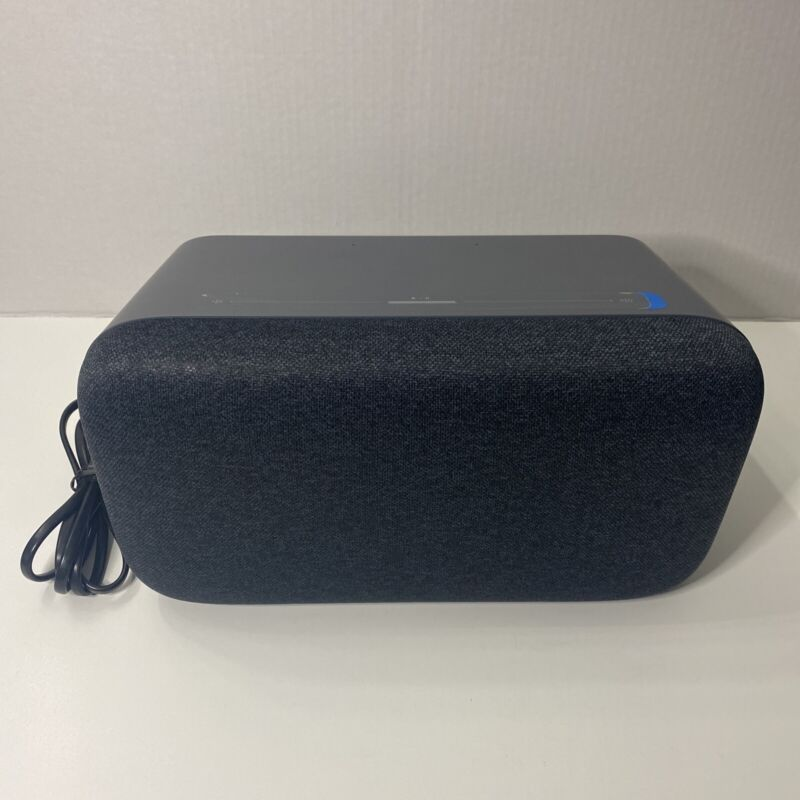 Google Home Max Home Assistant Charcoal Color New No Box (Tiny Blemishes)