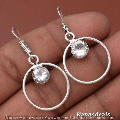 Thanksgiving Gift 3.5 Gm Zircon 925 Sterling Silver Plated Earring ER-28327