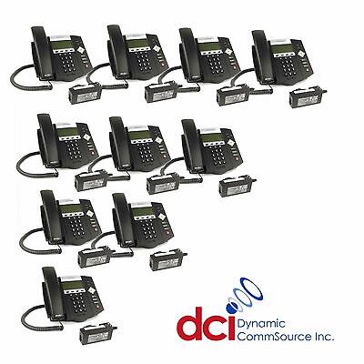 Refurbished 10 Pack Polycom Soundpoint Ip 450 Telephones Wpower Free Ship