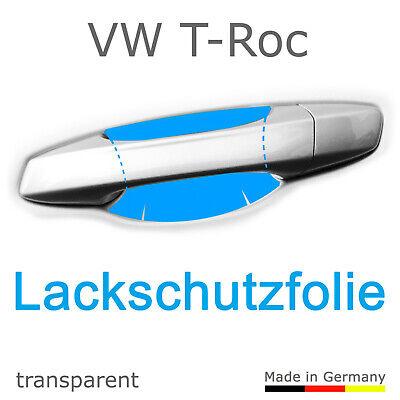 Schutzfolie Aufkleber Türgriff Griffmulde /      VW T-Roc ab 2017