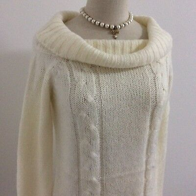 LIZ LISA Sweater White Knit Top Kawaii Japan Gyaru Fahion #12917