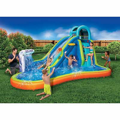 Banzai Deluxe 2 in 1 Surf 'N Splash Water Park and Slide 'N