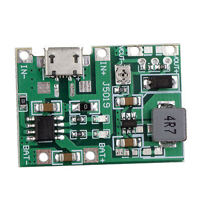 9v Output Step Up Module 3.7v 18650 Li-ion Battery Voltage Charge Discharge 2a