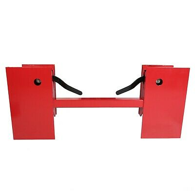Universal Skid Steer Quick Tach Conversion Adapter Plate Red Us Stock