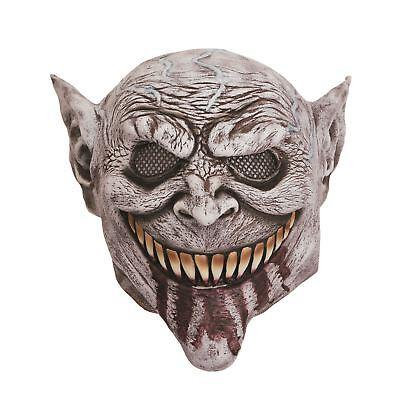 Goblin Maske Blutig Zunge, Halloween, (Goblin Halloween Kostüm)