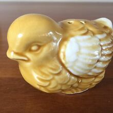 Vintage Sparrow Birds Salt Pepper Shakers Made in Japan Free Post Singleton Singleton Area Preview