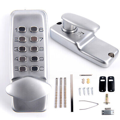 Keyless Locks Digital mechanical Code Keypad Password Door Hardware Entry FSY
