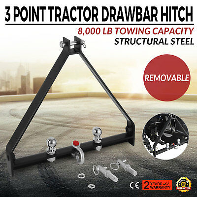 3 Point BX Trailer Hitch Compact Tractor Kubota Handy Hitch Attachments