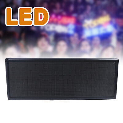 Full Color Video P5 Led Sign Programmable Scrolling Message Display 38x12 Usa