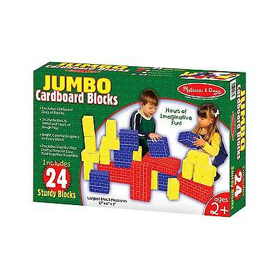 Melissa & Doug® 24-pc. Cardboard Brick Block Set