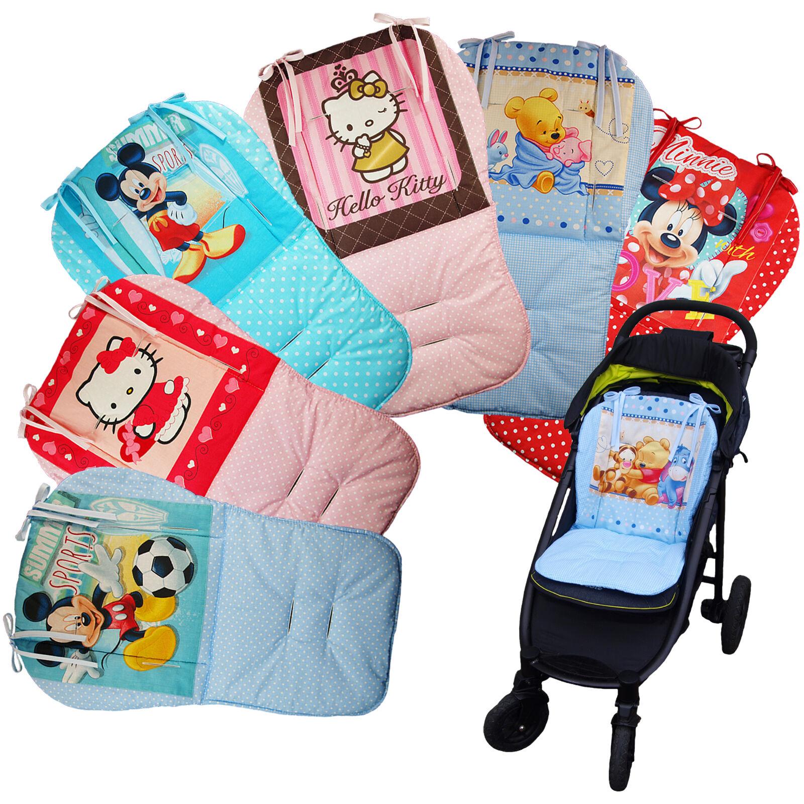 Kindersitzauflage Buggy Kinderwagen Auflage Wendeauflage Sitzeinlage Babysitz