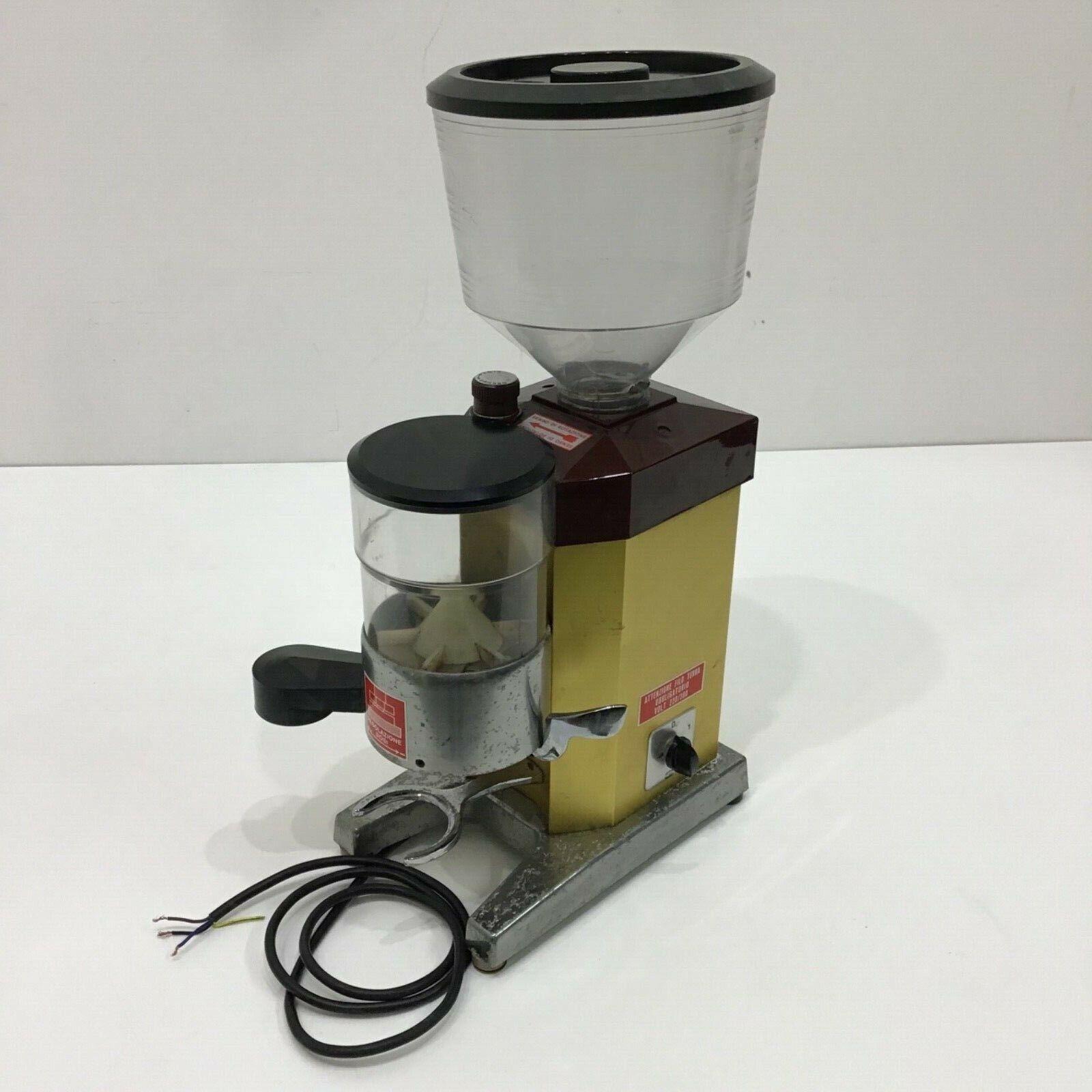 MACINA CAFFE DOSATORE PROFESSIONALE EUREKA 220-380 VOLT TOP DOSER COFFEE MILL
