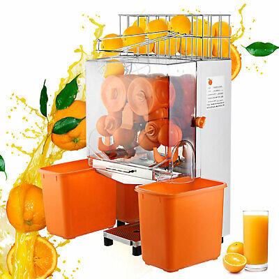 Exprimidor de Naranjas 120W 20 a 22 Naranjas Máquina automática Comercial