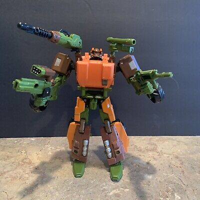 Transformers Generations IDW Voyager Class Roadbuster Figure 100% Complete